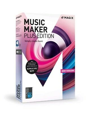 MAGIX Music Maker – 2018 Plus Edition – Produce, Record And Mix Music • 49.50£