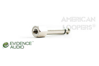 Evidence Audio STRAIGHT SIS X6 (Screw in Solder-less) Professional Guitar Plugs