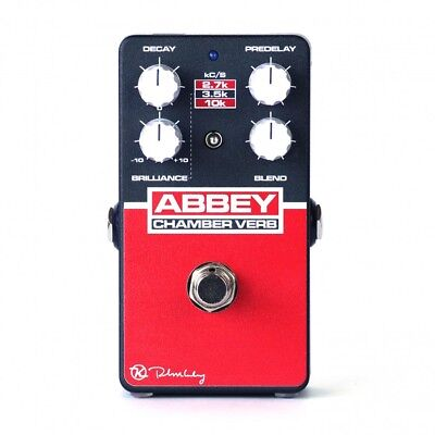 Keeley Abbey Chamber Verb Vintage Reverb Guitar Effects Pedal • 141.22£