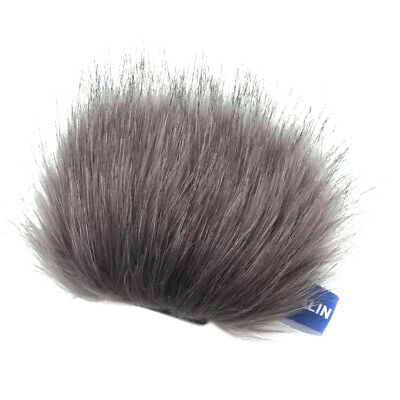 Furry Cover Windscreen Windshield Muff Compatible For Tascam DR-22WL Mic • 3.97£