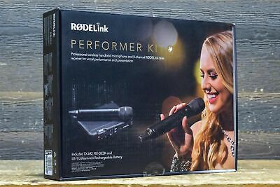 Rode RODELink Performer Kit Digital Wireless Audio System For Vocal Performance • 267.29£