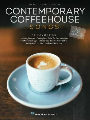 Contemporary Coffeehouse Songs 2nd Ed Sheet Music 48 Favorites Piano 000285923 • 11.92£