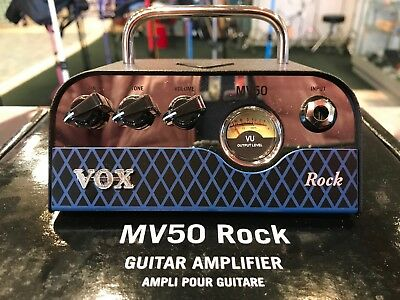 Vox MV50 Rock 50 Watt Hybrid Tube Amp Head • 177.94£