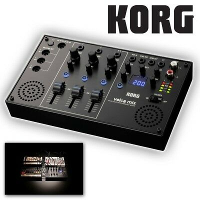 Korg Volca Mix 4 Channel Analogue Synthesiser Mixer For Volca Bass / Beats / Key • 119£