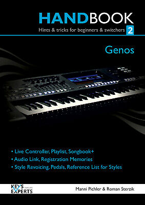 Handbook For Yamaha Genos Keyboard Part 2 130 Pages Language English Keysexperts • 46.08£
