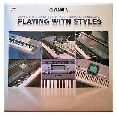 New Yamaha Playing With Styles DVD Disk For Many YPG, DGX, & PSR Model Keyboards • 2.86£