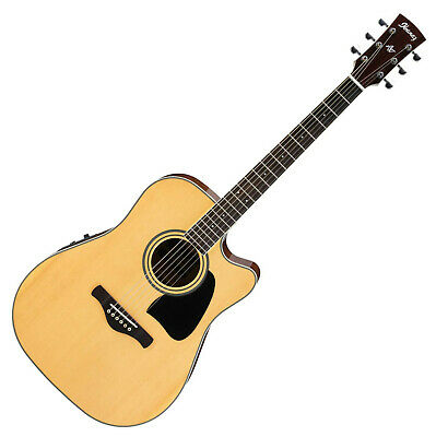Ibanez Artwood AW70ECE-NT Natural High Gloss Westerngitarre Western Guitar • 271.32£