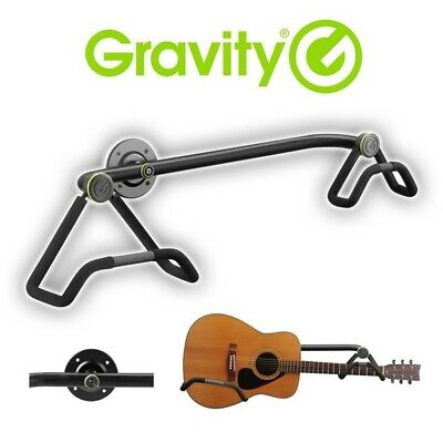 Gravity GS WMB 01 AB Acoustic Guitar Display Wall Holder Mount Stand • 34.95£