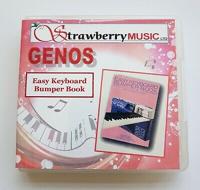 EASY KEYBOARD BUMPER BOOK (USB) For Yamaha Genos Software. 1000 Registrations • 54.99£