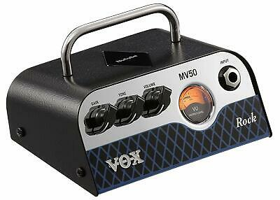 Vox MV50CR Rock MiniValve Head Guitar Amp 50W Amplifier MV50 CR • 193.11£