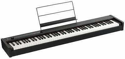 Korg D1 88 Key Digital Electronic Piano Black Damper Pedal And Music Stand • 461.01£