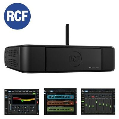 RCF M18 Wireless WiFi Digital Mixer & USB Audio Interface With Guitar Effects • 359£