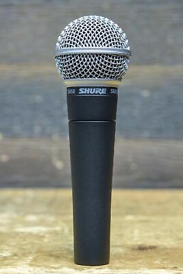 Shure SM58 Legendary Unidirectional Cardioid Dynamic Pro Vocal Microphone • 75.34£
