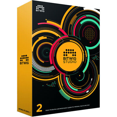 Bitwig Studio 8 Track 2.5 - Lifetime License For Windows, Mac And Linux - Latest • 16.99£