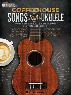 Coffeehouse Songs For Ukulele Sheet Music Strum And Sing Series NEW 000138238 • 9.62£