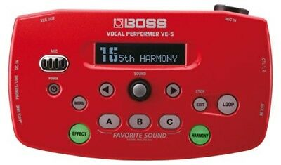 Boss Vocal Performer Red VE-5-RD From Japan • 223.87£