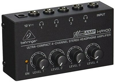 BEHRINGER Headphone Amplifier HA400 • 40.53£