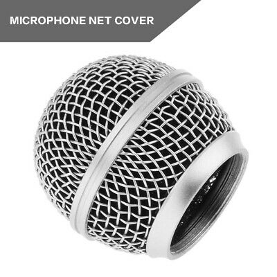 Microphone Grille Mic Mesh Head Ball Cover For Shure SM58 SM58LC SM58SK SM58S • 1.69£