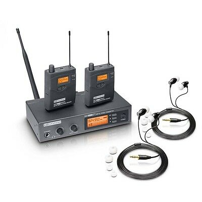 LD Systems MEI 1000 G2 BUNDLE WIRELESS IEM IN EAR MONITORING SYSTEM BAND STAGE • 399£