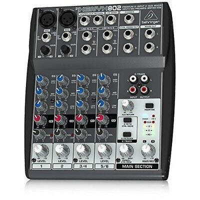 BEHRINGER XENYX 802 Analog Mixer From Japan • 124.76£