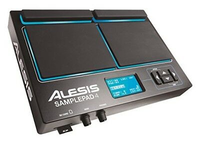 Alesis SamplePad 4 Compact 4-Pad Percussion And Sample-Triggering F/S • 211.09£