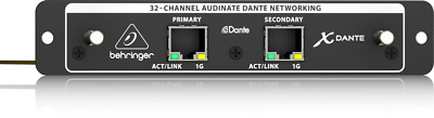 Behringer X-DANTE 32-channel Audinate Dante Expansion Card For X32 Mixer • 476.98£