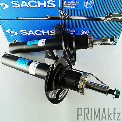 2x Sachs 312 267 Shock Absorber Front Axle Front Audi A3 Seat Altea Leon Toledo • 88.77£