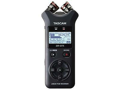 TASCAM DR-07X Unidirectional Stereo Handheld Digital Audio Recorder • 167.92£