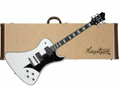 HAGSTROM Fantomen Electric Guitar Gloss White NEW W/ HARD CASE - Ghost • 786.80£