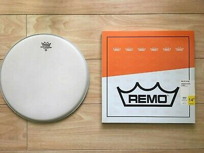 14  Remo Ambassador Coated Snare Tom Drum Head Skin NEW In Box • 4.99£