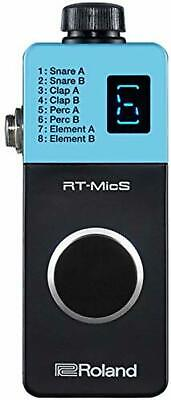 Roland Hybrid Drum Module RT-MicS New In Box Free Shipping W/Tracking# New Japan • 201.77£