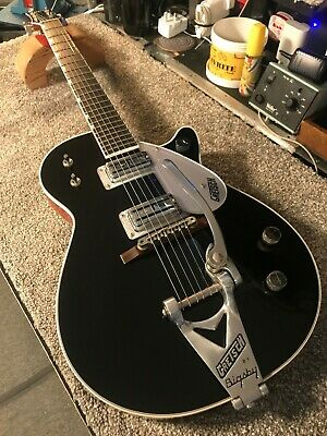 Gretsch G6128T Players Edition Jet FT With Bigsby - Black - 2011 Model • 900£