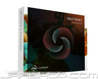 iZotope Neutron 3 Advanced Upgrade from Music Production Suite 2 or RX PPS 3 eDe