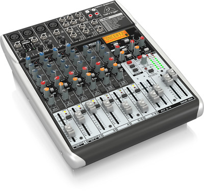 Behringer QX1204USB Xenyx 12-Input 2/2-Bus Mixer With USB/Audio Interface • 237.77£