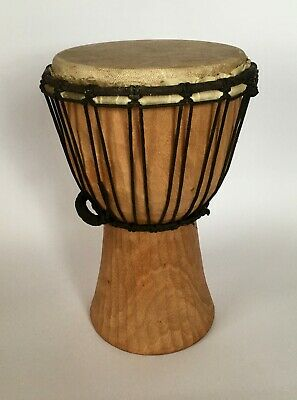 Handmade African Style Djembe Bongo Drum Traditionally Carved Fair Trade • 44.65£