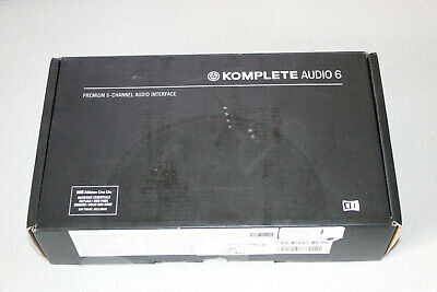 Native Instruments Komplete Audio 6 Mk2 USB Audio Interface As-is Untested • 90.34£