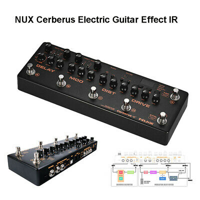 NUX Cerberus Electric Guitar Effect Inside Routing Pedal Analog Overdrive Delay • 217.77£