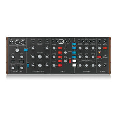 Behringer Model D Authentic Analog Synthesizer Module Desktop Synth • 342.50£