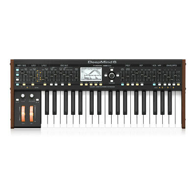 Behringer Deepmind 6 True Analog 6-Voice Polyphonic Synthesizer Studio • 499£