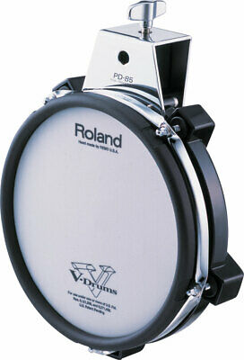 Roland 8  Dual Trigger Mesh Drum Pad PD-85BK NEW V-Drums Electric Electronic  • 159.84£