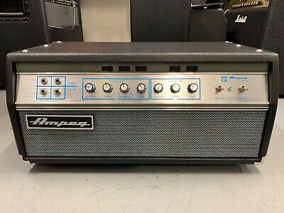 Ampeg Svt Vr Bass Guitar Amp Amplifier Head For Repair • 820£