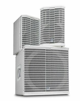 HK AUDIO LIMITED EDITION LUCAS 2K15 In WHITE 2000w ONLY 200 MADE 5 Yr. Warranty • 1,499£