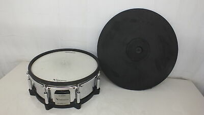 Roland CY-18DR Digital Ride Cymbal / PD-140DS V-Pad Digital Snare • 398.41£
