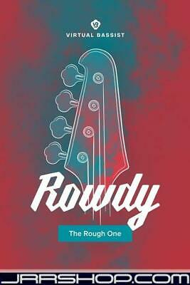 UJAM Instruments Virtual Bassist ROWDY 2.0 Upgrade EDelivery JRR Shop • 23.26£