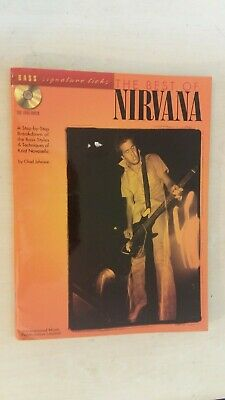 The Best Of Nirvana  -  Bass Signature Licks With Cd