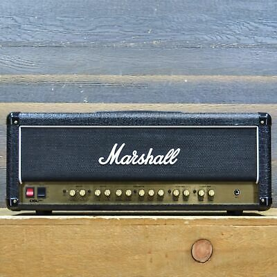 Marshall DSL100H DSL Series 100W 2-Channel Guitar Amplifier Head W/Footswitch • 606.64£