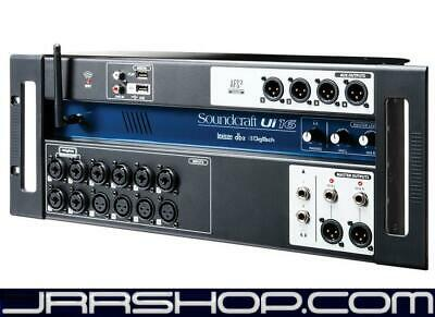 Soundcraft Ui 16 Remote Controlled Digital Mixer New JRR Shop • 444.58£