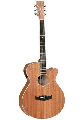 Tanglewood Union TWU SFCE (Natural Satin) Electro Acoustic W Solid Mahogany Top • 259£