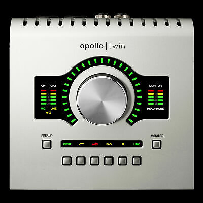 Universal Audio Apollo Twin USB With Duo DSP Processing For Windows Only • 577.73£
