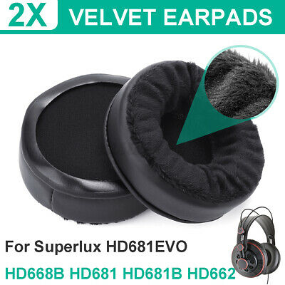 Replacement Ear Pads Cushions For Superlux HD681EVO HD668B HD681 HD681B HD662  • 8.88£